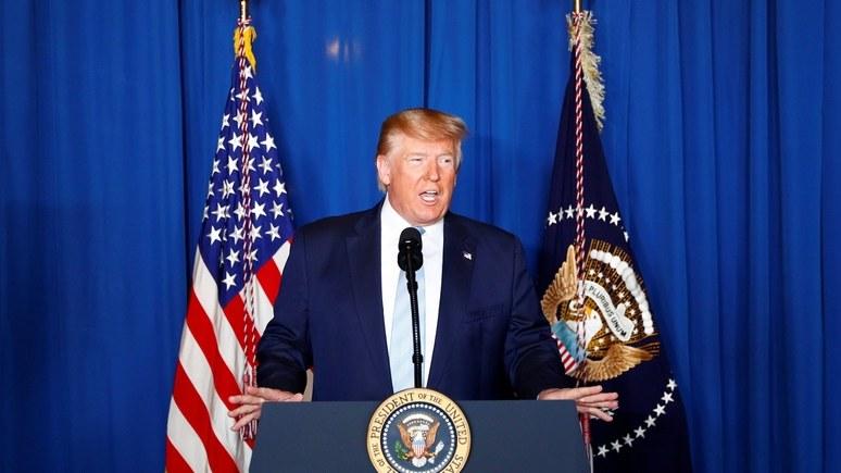 Sky News: Трамп объяснил убийство Сулеймани стремлением не допустить войны США с Ираном