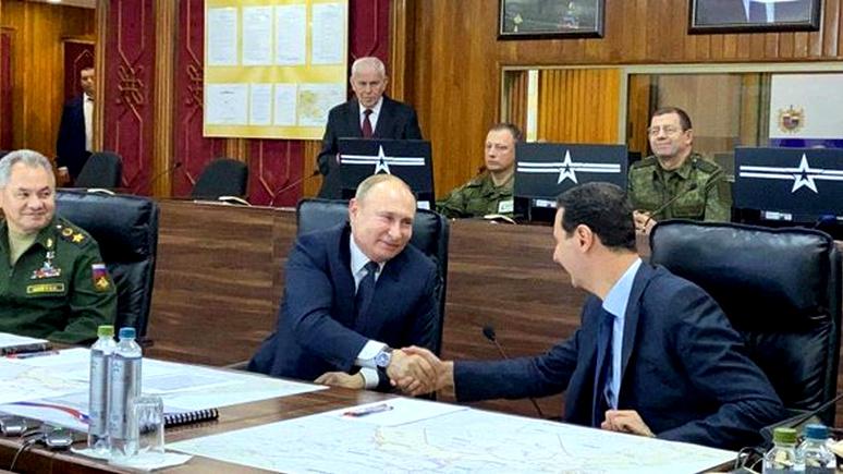 Bild: придётся улыбаться — после рукопожатия в Дамаске Меркель приедет в Москву со связанными руками