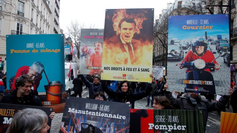 Guardian: самая затяжная с 1968 года забастовка во Франции продолжает набирать обороты