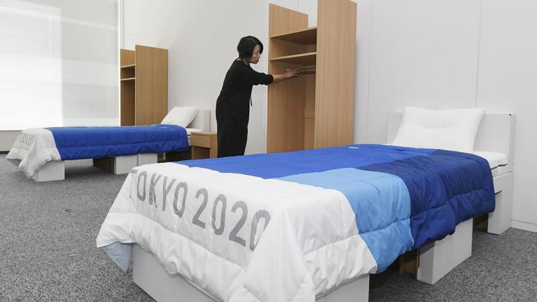 Time: самая экологичная Олимпиада — в Токио спортсмены будут спать на картонных кроватях