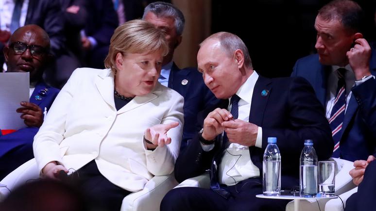 «Раньше надо было звонить в Вашингтон, теперь — в Москву»: Das Erste о предстоящей встрече Меркель и Путина