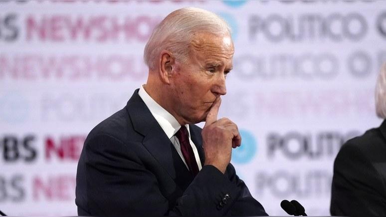Bloomberg: в Белом доме опасаются, что Москва «может дискредитировать» Байдена