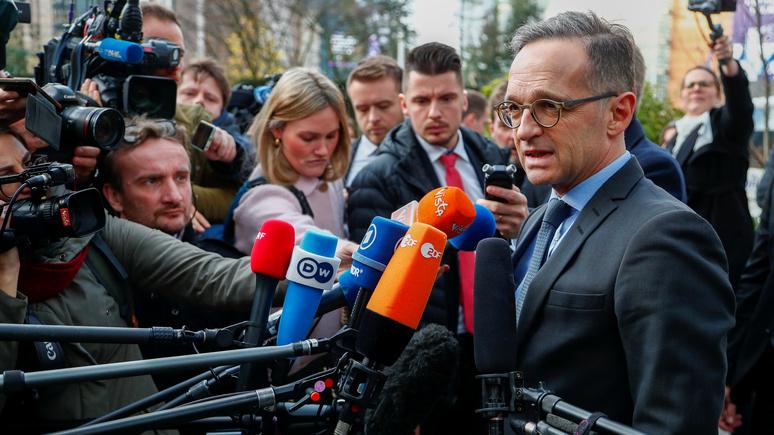 Westdeutsche Zeitung: Маас призвал Россию поработать над спасением иранской ядерной сделки