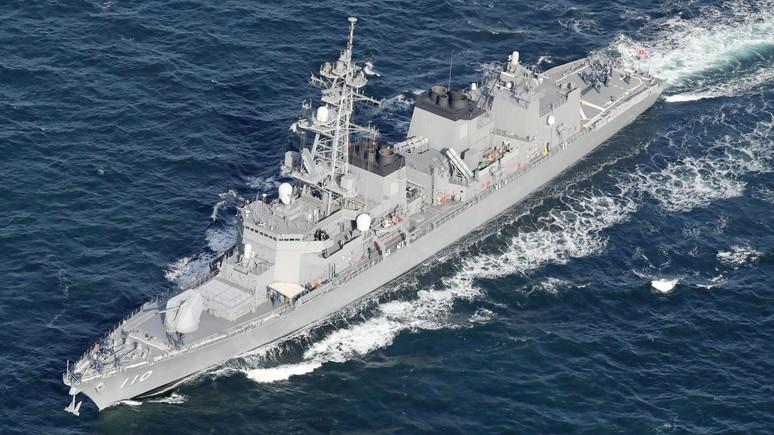 А вдруг Трамп помощи попросит: Mainichi Shimbun призвала Токио не отправлять корабли на Ближний Восток