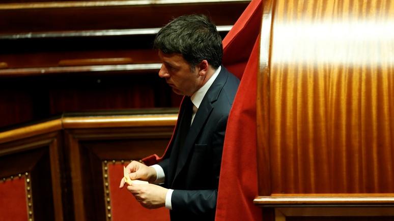 Маттео Ренци: при Сальвини Италии бы сейчас грозил выход из ЕС