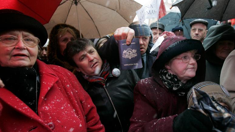 Deutschlandfunk рассказал о том, как живётся русскоговорящим «негражданам» в Латвии