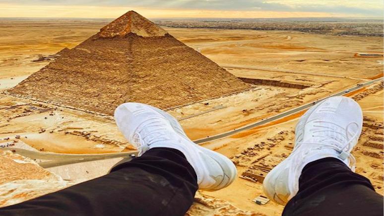 Sun: ради фото блогер залез на пирамиду Гизы и попал в египетскую тюрьму