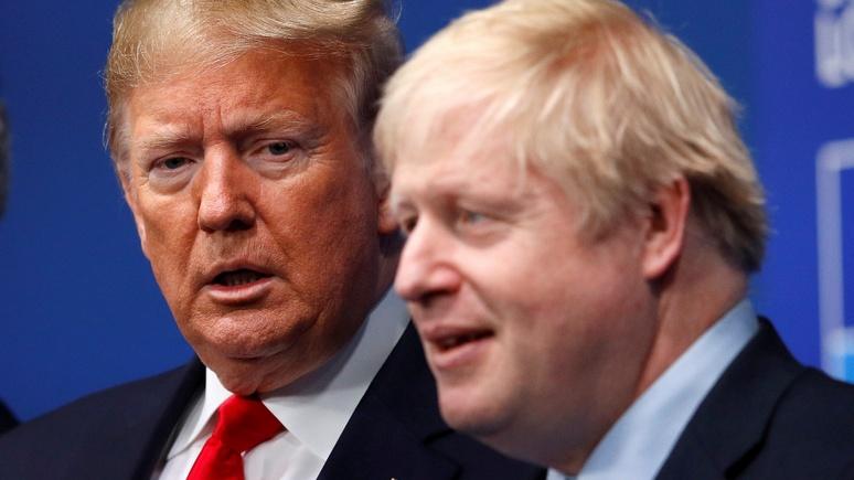 Sunday Times: Джонсон намерен «воспользоваться Трампом», чтобы добиться уступок от ЕС