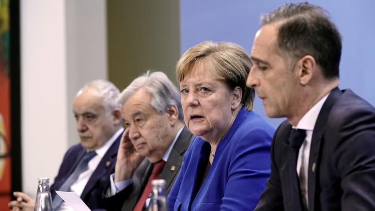 FAZ: Берлин теперь «главный по Ливии» — ему и контингент вводить