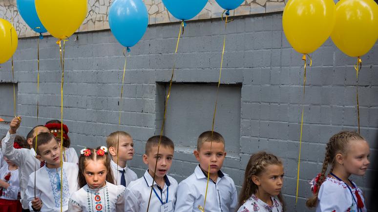112: учителя русскоязычных школ перейдут на украинский язык преподавания