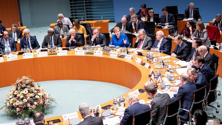 NZZ: Германия громко праздновала «свои» успехи по Ливии, но притихла при намёке на военное участие