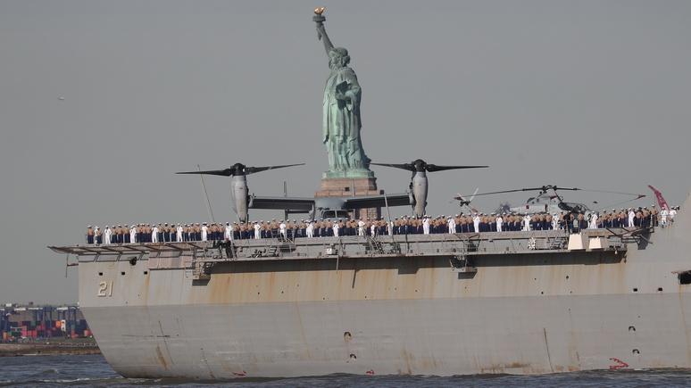 Forbes: США не видать победы в Евразии, если они не обновят транспортный флот