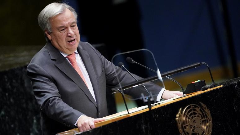 Deccan Herald: генсек ООН рассказал об угрожающих миру «всадниках апокалипсиса»
