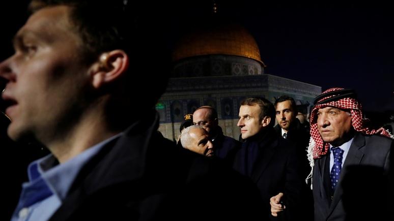 France 24: Макрон повторил в Иерусалиме «подвиг» Ширака — повздорил с израильскими агентами