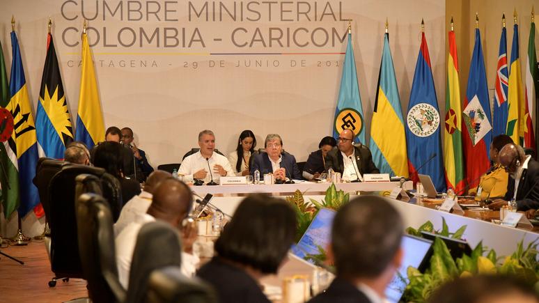 Granma: «злой американский великан» угрожает Карибскому бассейну