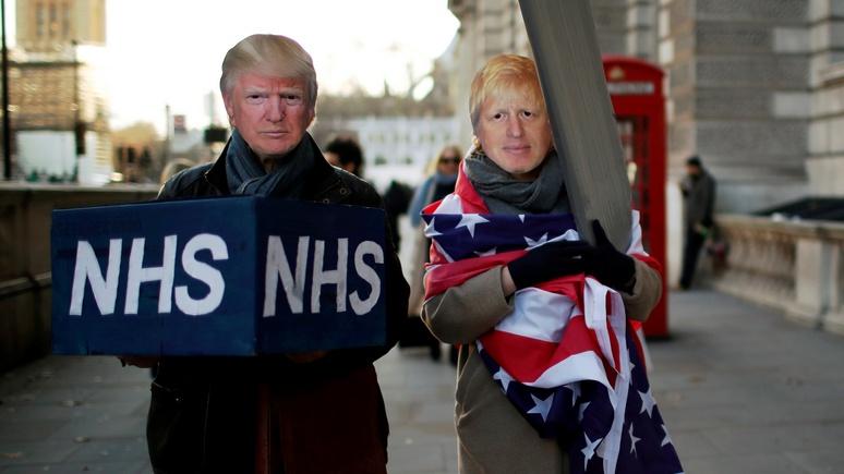 Sunday Times: 90% британцев видят в торговом соглашении с США угрозу для здравоохранения