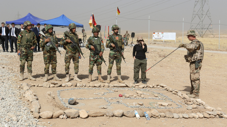 FAZ: немецкая армия возобновляет свою иракскую миссию