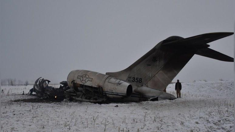 NPR: талибы признались, что сбили самолёт ВВС США — но в Вашингтоне им не верят