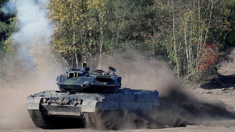 Bild: в разгар модернизации «Леопардов» бундесвер останется почти без танков