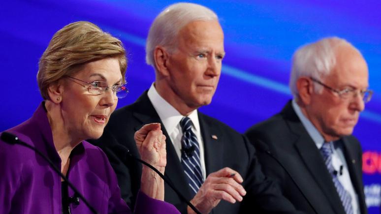 Die Welt: раскол среди демократов может стоить им победы на президентских выборах в США