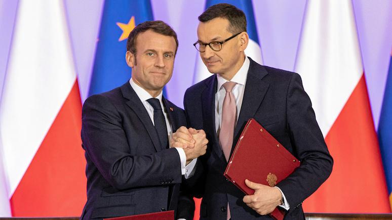 Эксперт: впервые в истории Франция восприняла Польшу всерьёз