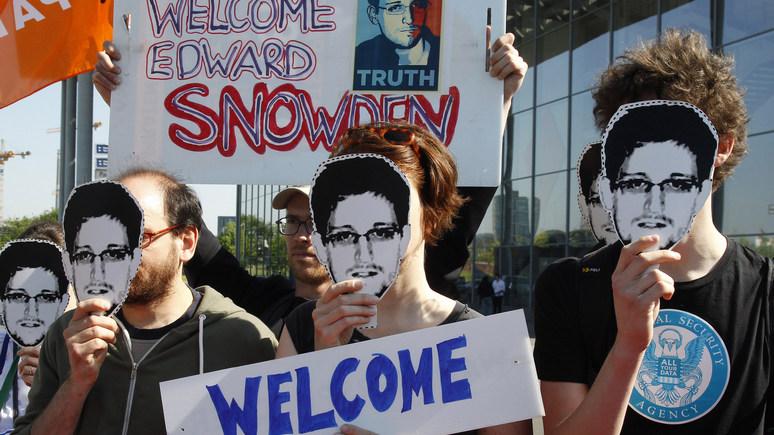 Spiegel: Сноудену придётся задержаться в России из-за бездействия Запада