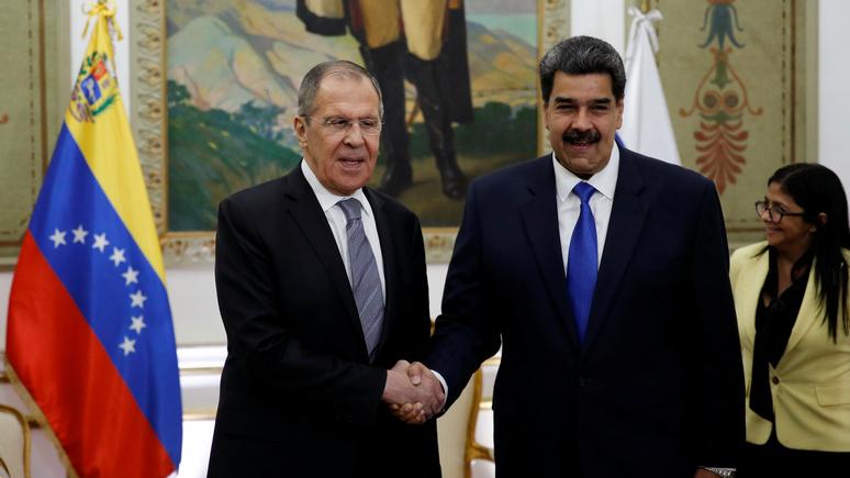 El Periódico: «методы шантажа и диктата» — Лавров осудил давление США на Венесуэлу