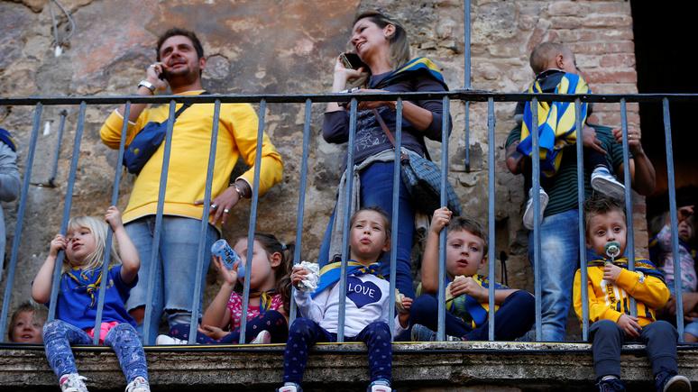 Bloomberg: Италия переживает крупнейший за столетие демографический кризис