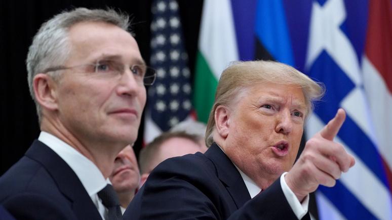 Die Welt: идея Трампа «развернуть» НАТО на Ближний Восток не нравится немцам и прибалтам