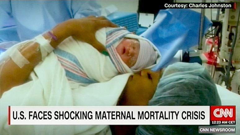 CNN: в США смертность при родах выше, чем в Казахстане — и это стыд — ИноТВ