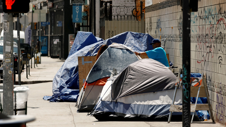 Fox News: число бездомных в Вашингтоне достигло рекордно низких показателей