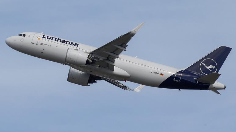 Bild: несмотря на призывы Греты Тунберг, немцы всё чаще летают самолётами