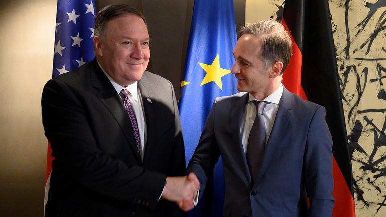 FAZ: конфронтация между США и Китаем — шанс для Европы стать ближе к союзнику