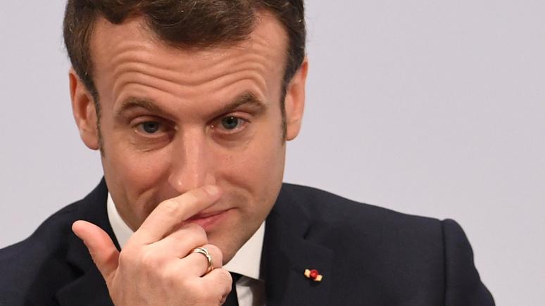 Valeurs Actuelles: «сомнительная карьера в кино» — Макрон в частной беседе осудил поступок Гриво