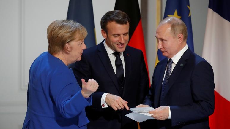 Das Erste: Меркель и Макрон позвонили Путину, чтобы восстановить перемирие в Идлибе