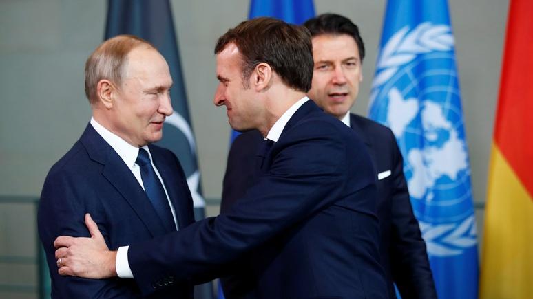 Atlantic Sentinel: Макрону стоит сменить идеализм на прагматичное отношение к России