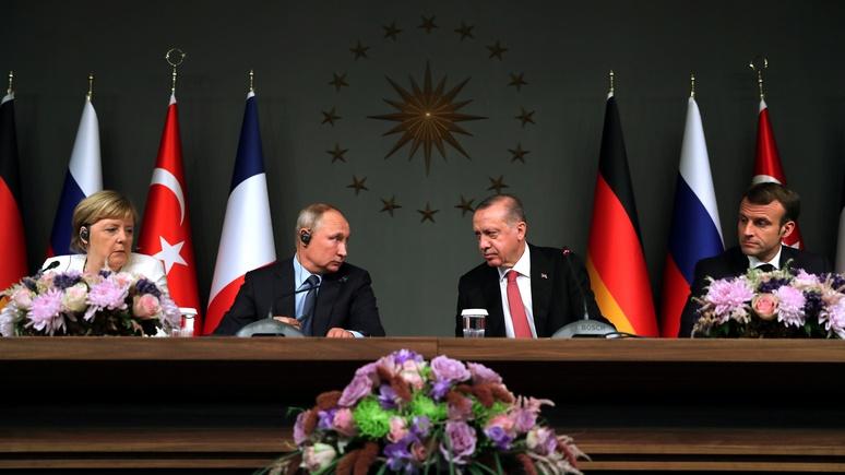 Tageszeitung предупреждает: за уступки Путина по Идлибу Макрону и Меркель придётся заплатить