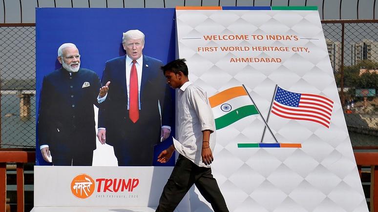 Berliner Zeitung: из-за России мантру Трампа о свободной торговле в Индии так никто и не услышит