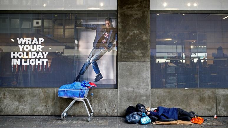 Independent: бездомных в Британии в пять раз больше, чем признаёт правительство