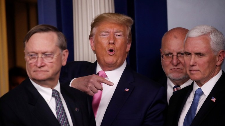NYT: Трамп поручил Пенсу сдержать распространение коронавируса в США