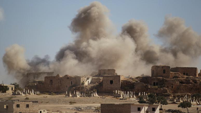 FAZ: Турция просит помощи у НАТО после ударов сирийской армии по Идлибу