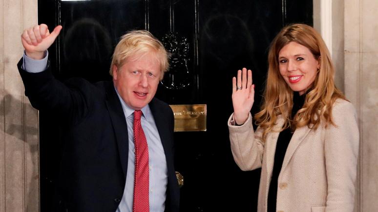 Sky News: первая свадьба в должности за 250 лет —Джонсон обручился со своей подругой и в шестой раз станет отцом