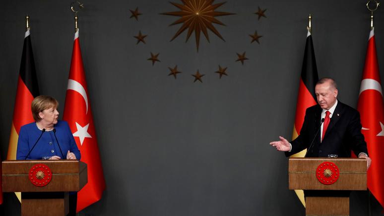 Der Spiegel предложил Меркель три шага к урегулированию конфликта с Эрдоганом