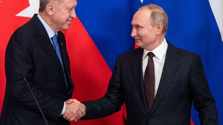 Der Spiegel: Путин и Эрдоган договорились о новом перемирии в Сирии