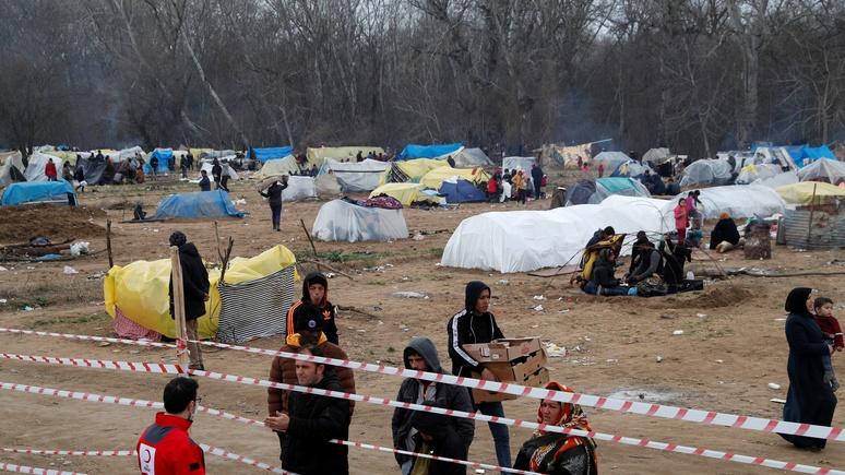 Daily Mail: из-за потока мигрантов на границе Турции и Греции могут появиться «джунгли» Кале