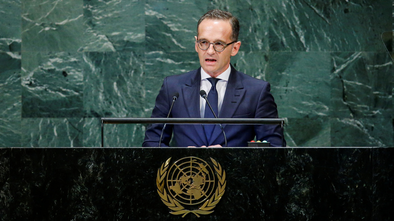 Маас: гарантии безопасности в Сирии может предоставить только Россия