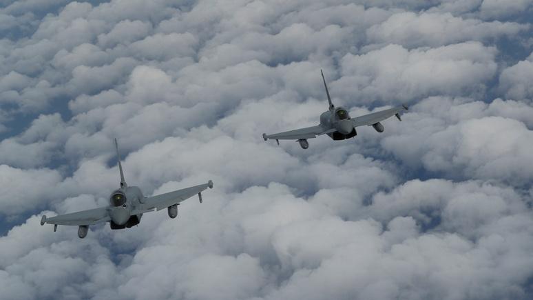 Sky News: шесть британских истребителей поднимались в небо на перехват российских самолётов