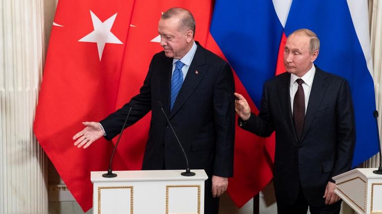 Le Figaro: Европе Эрдоган угрожает, а Путина ждёт беспрекословно - RT на русском