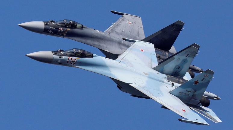 National Interest: российские Су-35 представляют реальную угрозу в воздухе