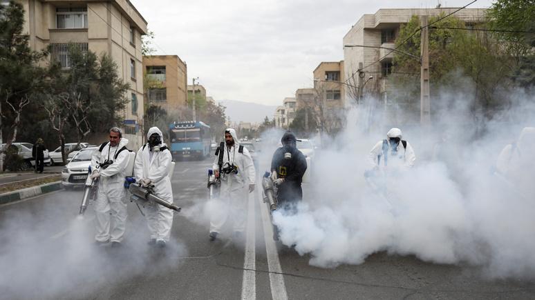 Independent: в Иране от коронавируса люди умирают каждые 10 минут